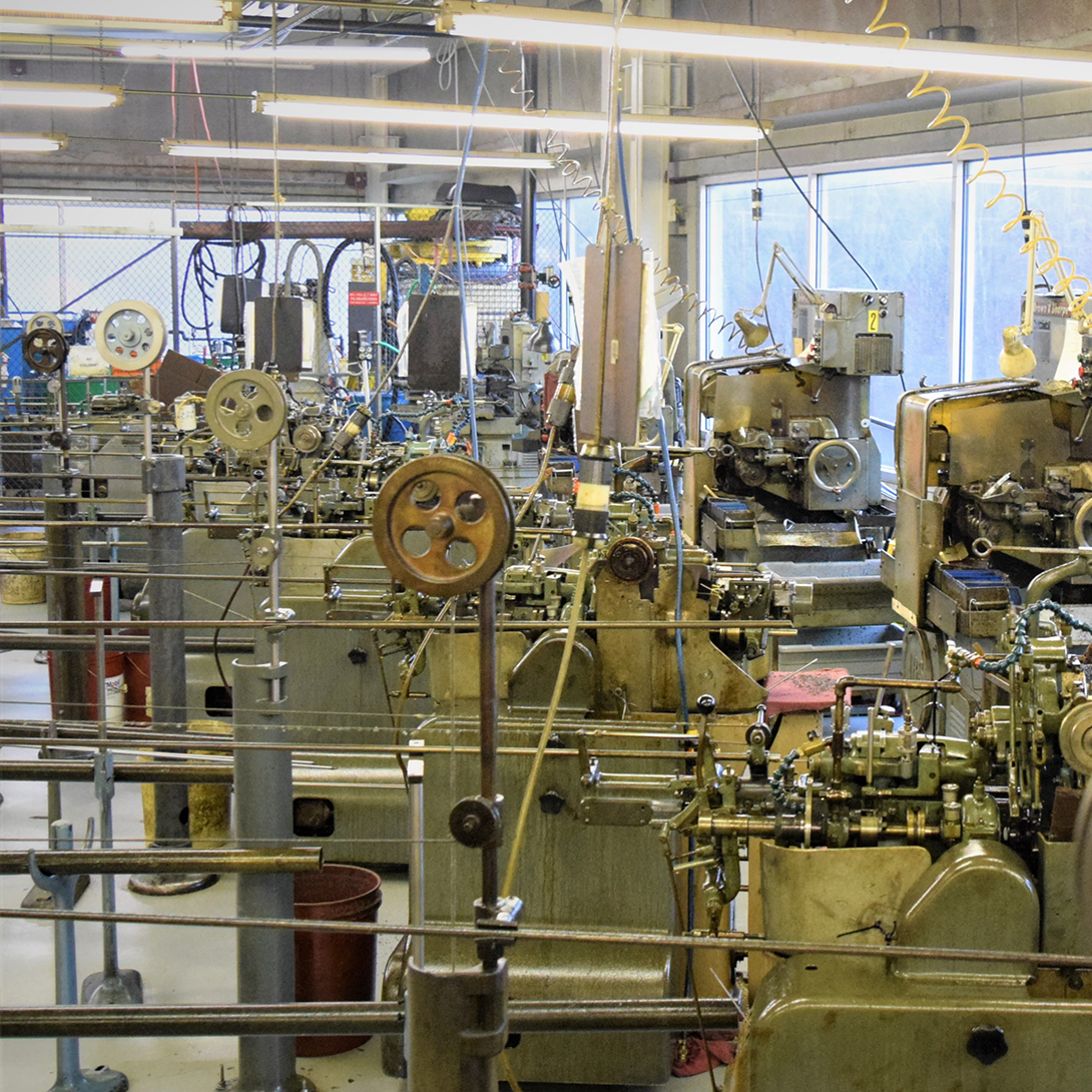 Microbest turning screw machines.